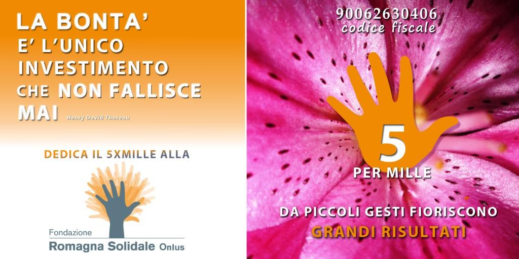 5x1000 Fondazione Romagna Solidale